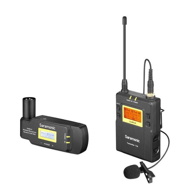 Saramonic UwMic9-HK kit7 一對一無線單反領夾咪