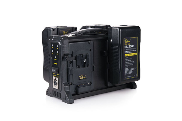 Rolux RL-4KS Battery Charger V-mount 充電器