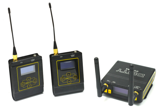 Aputure Deity Connect 一對二無線單反領夾咪