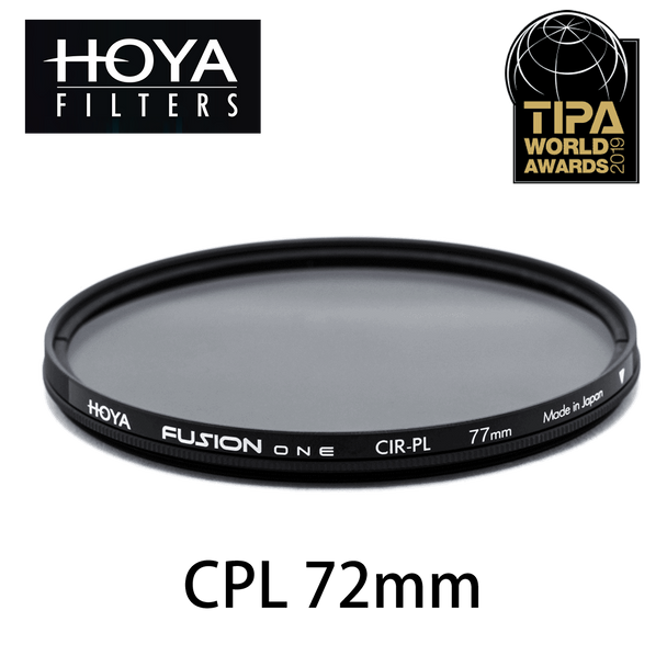 Hoya Fusion One CPL 防靜電鏡頭偏光濾鏡72mm