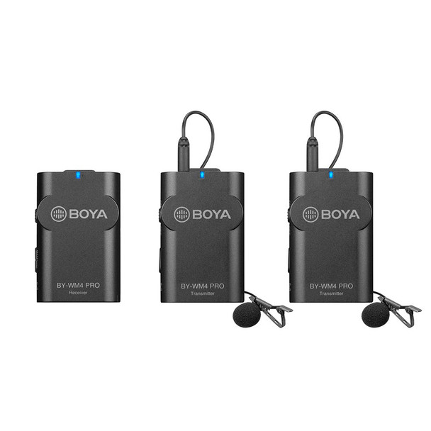 BOYA BY-WM4 Pro K2 Wireless Microphone 一開二無綫收音咪