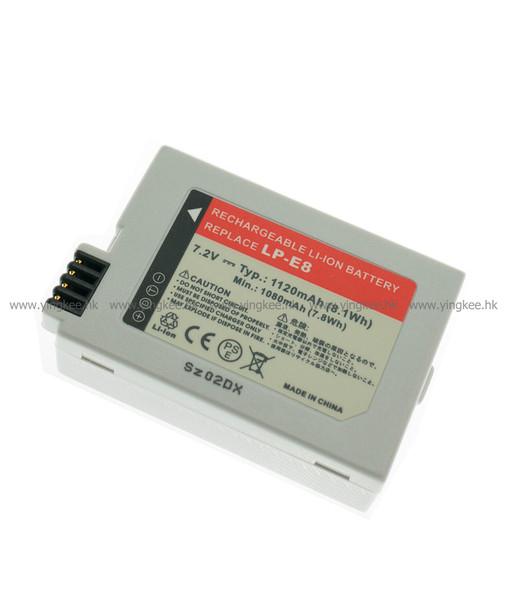 Powersmart DCN022 Canon 650D 700D LP-E8 代用電池