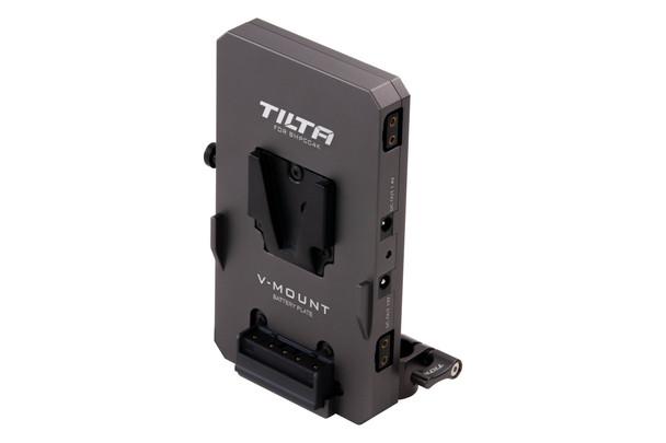 Tilta TA-BTP-V-G V-Mount Battery Plate  BMPCC 4K/6K Tilta Gray