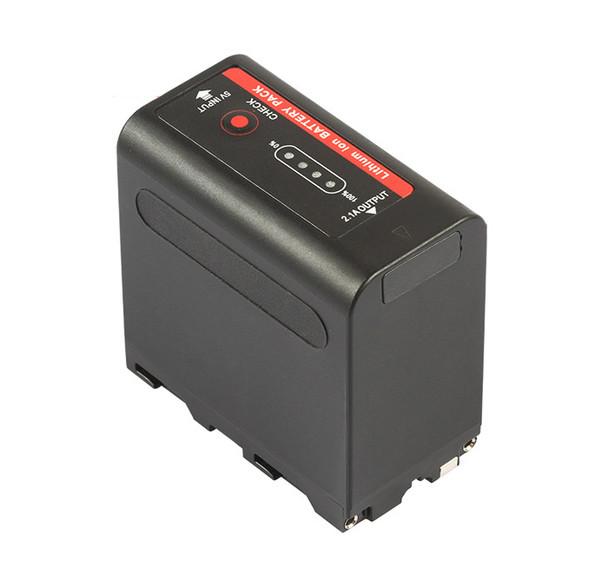 副廠Sony NP-F980 可電量顯示 Sony L mount 電池