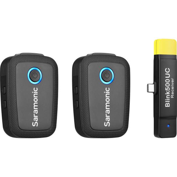 Saramonic Blink500 B6 2.4Ghz 一對二無線單反領夾咪 For USB Type-C