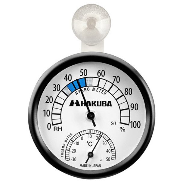 Hakuba 指針溫度濕度計 C-82 (日本製)