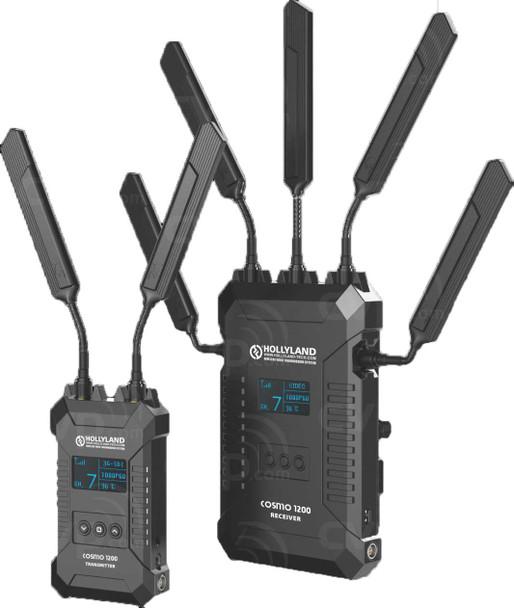 Hollyland COSMO 1200 1200英尺 HDMI/SDI雙介面 一開二無線圖傳 (1TX+2RX)