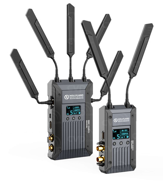Hollyland COSMO 2000 2000英尺 HDMI/SDI雙介面 一開二無線圖傳 (1TX+2RX)