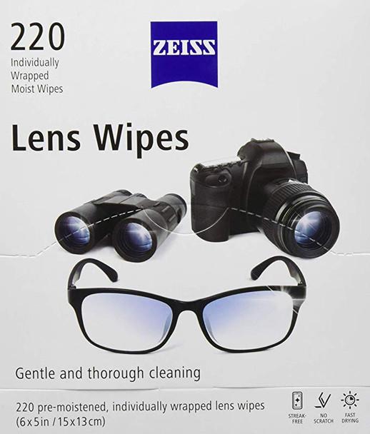 Zeiss Lens Wipes 蔡司專業光學擦鏡紙 220片裝