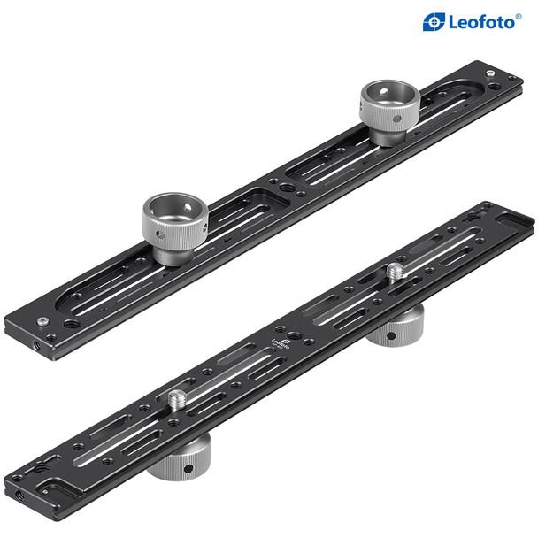 Leofoto NP-400 Multi-Purpose Rail 多功能雙機位長板