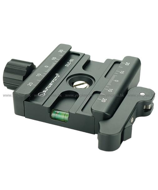 Sunwayfoto DLC-60 扳扣旋鈕兩用快拆座