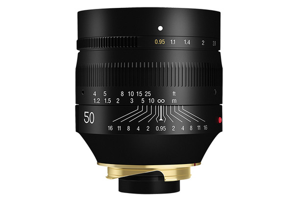 銘匠 TTartisan 50mm f/0.95 LM Leica-M 鏡頭  黑色