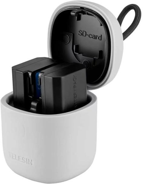 Telesin All in Box for Canon LP-E6 E6n 電池充電器