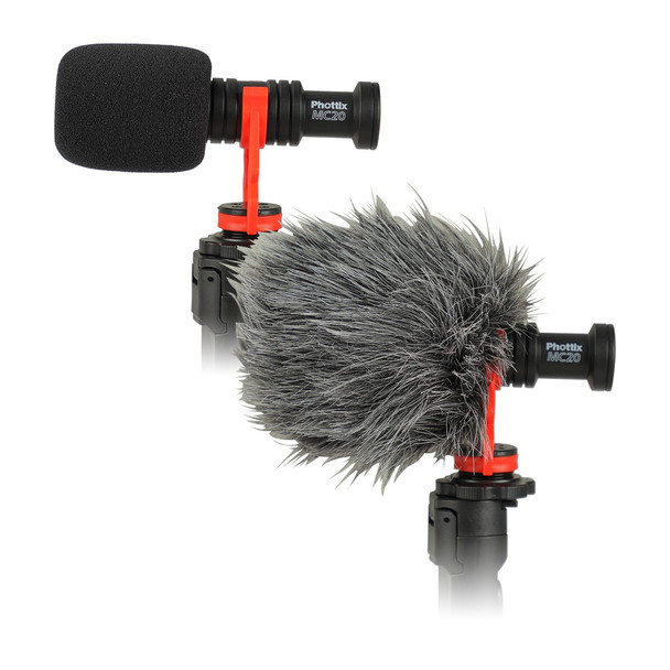 Phottix MC20 Cardioid Microphone Kits 心形麥克風套裝