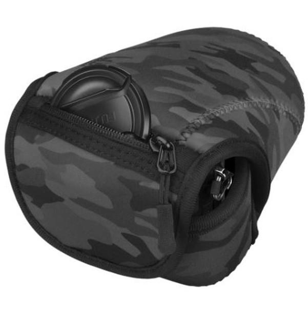 Hakuba Plus Shell Slim Fit 02 S120 相機套 Black Camo 迷彩黑