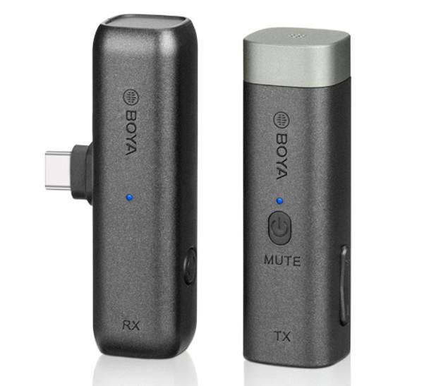 BOYA BY-WM3U Wireless Microphone 一開一無綫收音咪 For Type C