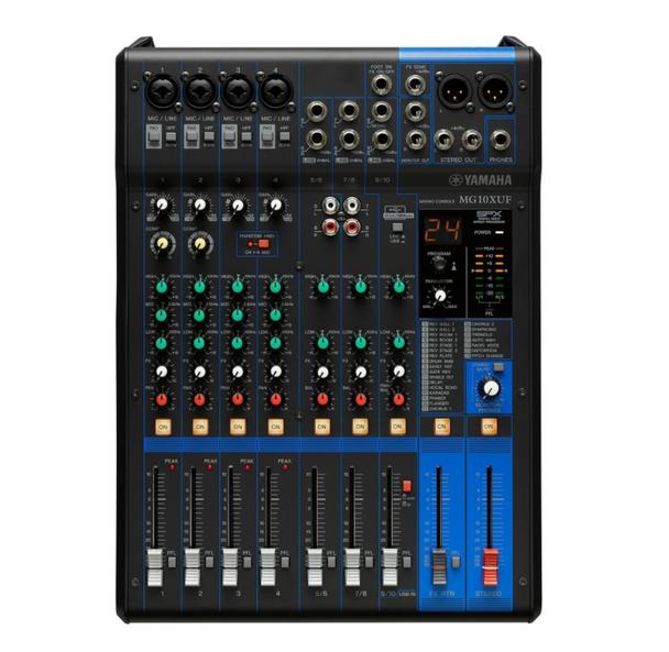 Yamaha MG10XUF Analog Mixing Console 混音器