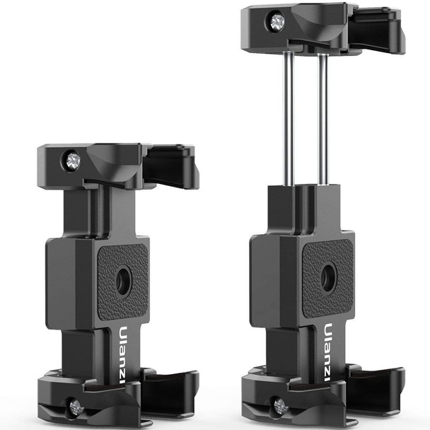 Ulanzi ST-15 Foldable Mobile Phone Clamp & Camera Quick Release Plate 可折疊金屬手機夾及相機快拆板