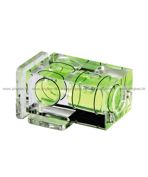 2-Axis Camera Bubble Level 雙軸熱靴水平儀
