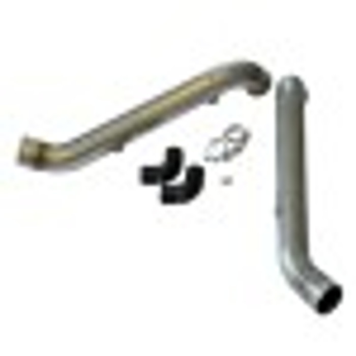 034 Bipipe Set, B5 Audi S4 & C5 Audi A6/Allroad 2.7T, Stainless Steel with WMI Bungs