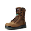 "Ariat Turbo 8"" CSA Waterproof Carbon Toe Work Boots"