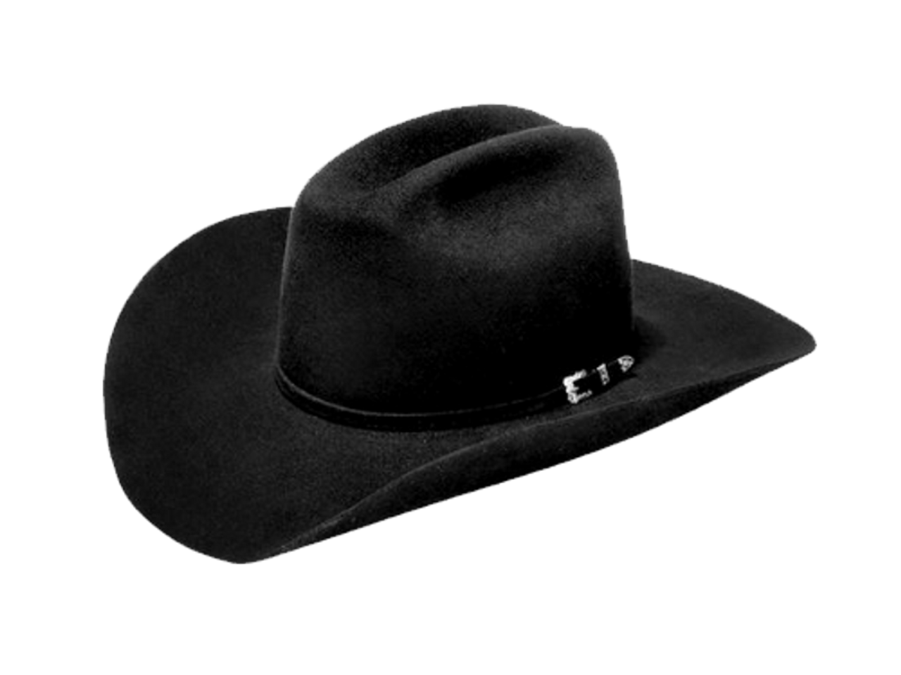 Master Hatters of Texas Denton 3X Black Felt Cowboy Hat 23848bb02d0d