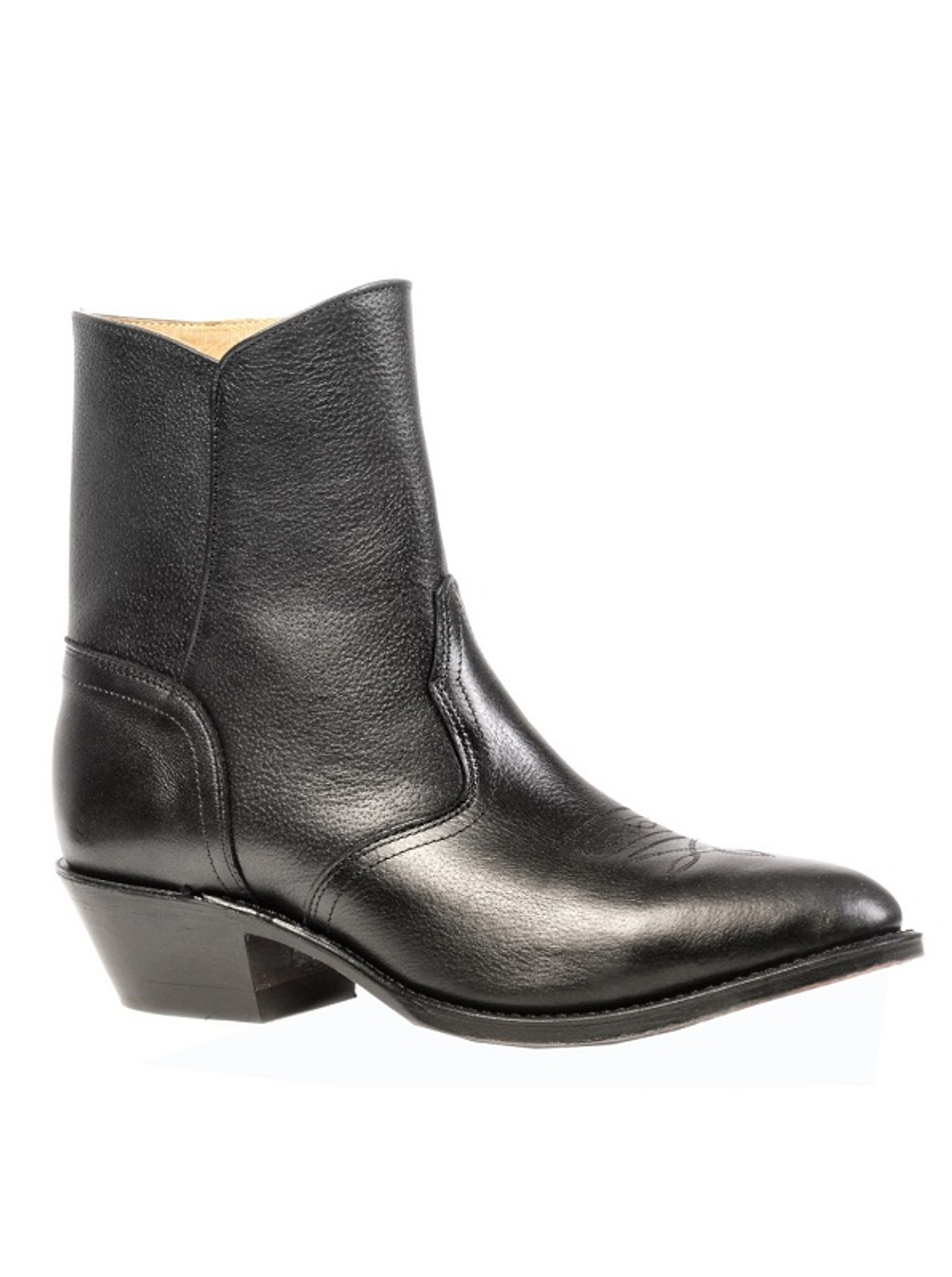 zipper dress boots