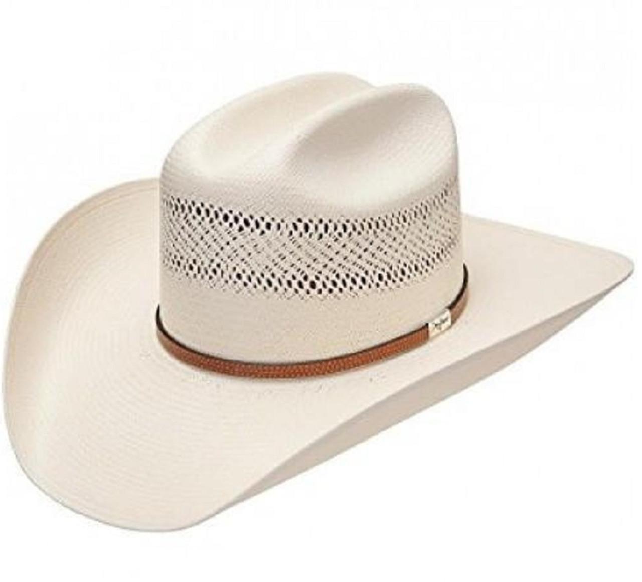 4f5a3875a2b33 George Strait 10X Straw Resistol Cowboy Hat