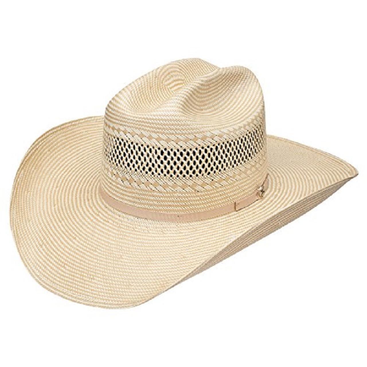e65311a2cbfad Hooey Ruidoso Two-Tone Straw Cowboy Hat