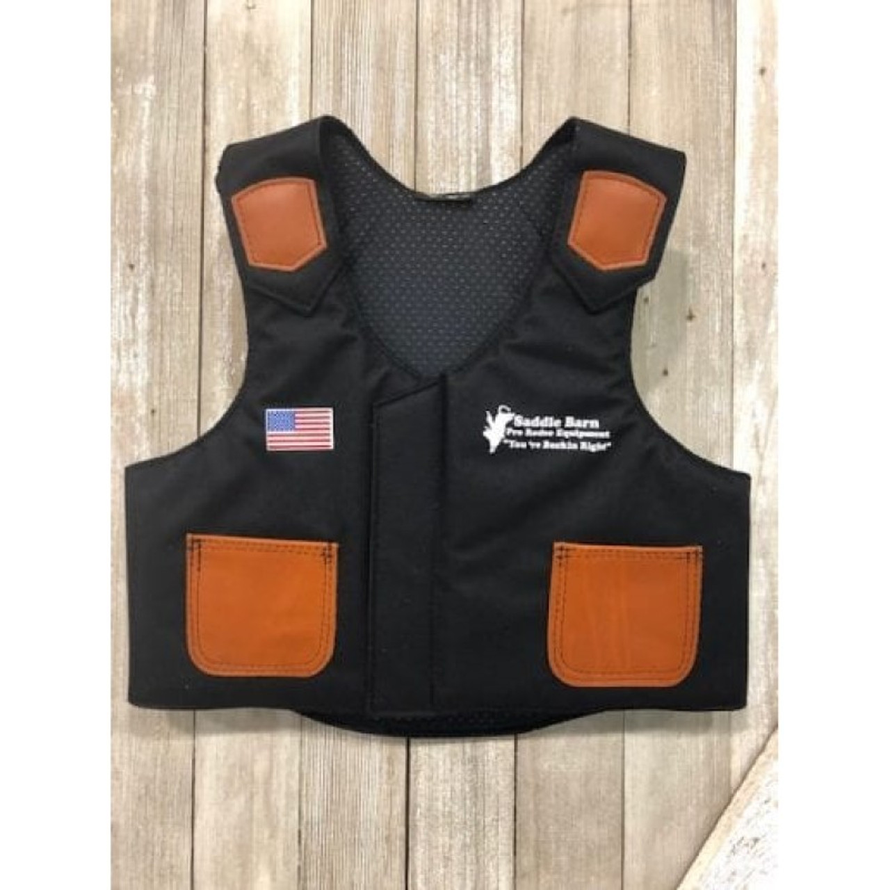 Saddle Junior Barn Bull Vest Rider Cordura mw0vN8n