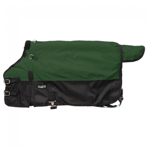 Tough-1 600D Waterproof Poly Miniature Turnout Blanket - Hunter Green