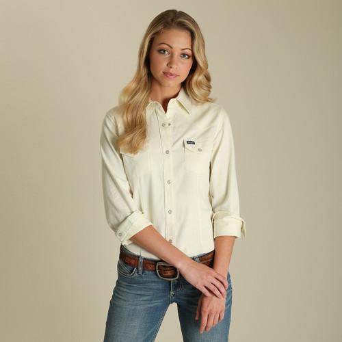 Wrangler Women's Ivory Western Shirt