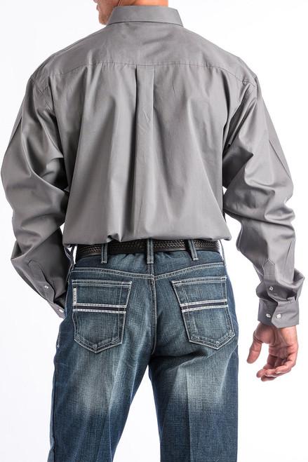 e7c58bc3 Men's Cinch Grey, White & Purple Print Western Button Down Shirt