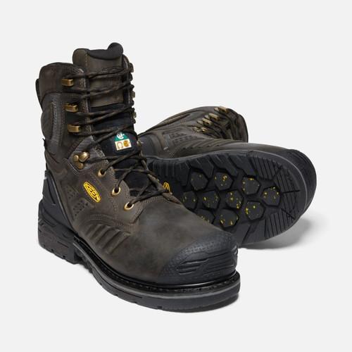 """Keen Men's CSA Philadelphia 8"""" Insulated Waterproof Work Boots"""