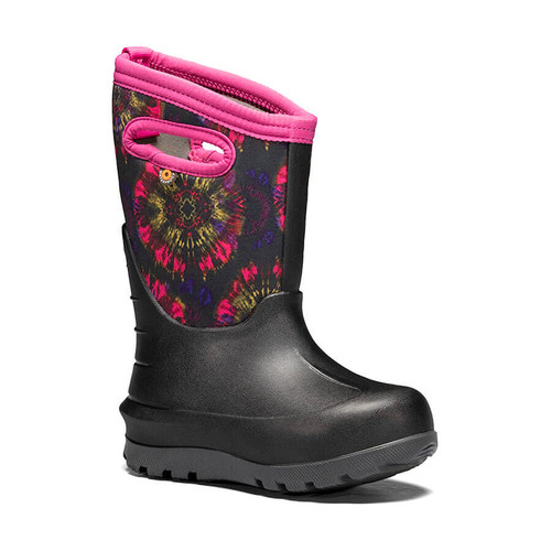 Bogs Kids' Neo-Classic Tie Dye Insulated Boots