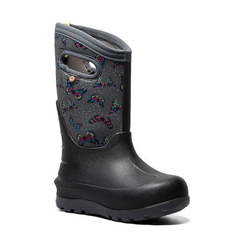 Bogs Kids' Neo-Classic Butterflies Insulated Boots