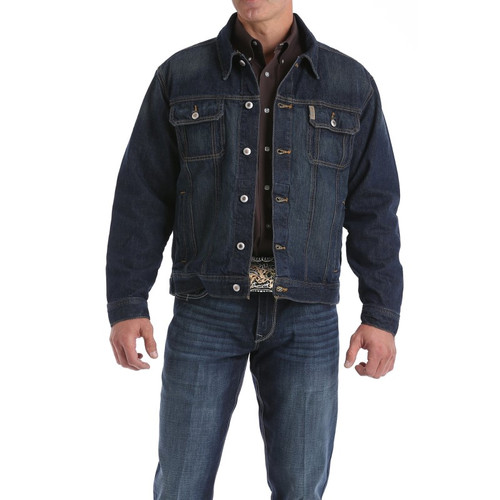 Cinch Men's Stonewash Denim Jacket