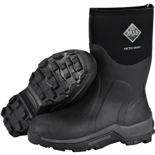 Muck Arctic Pro Mid Boots (Tread/Side View)