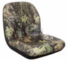 New - Camo Low Back Seat