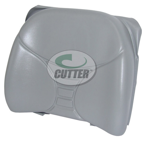 New - Grey Vinyl Replacement Back Cushion
