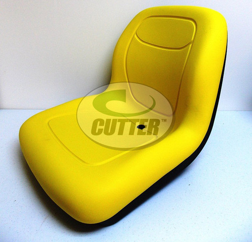 New - Yellow Low Back Seat - Fits John Deere