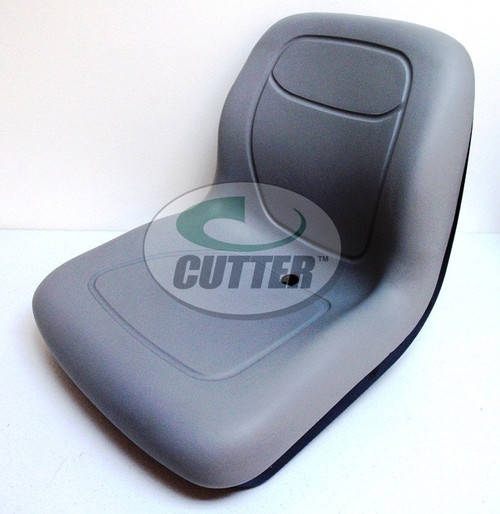 Grey Low Back Seat - Fits Toro