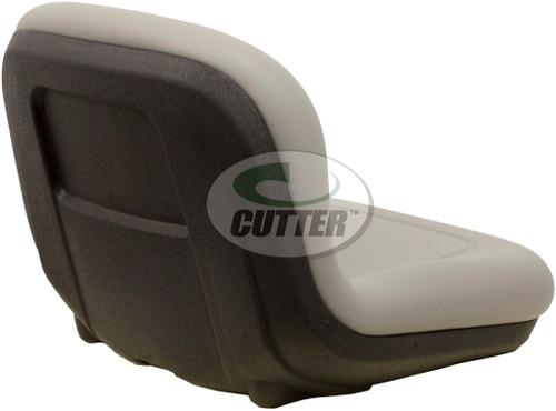 New - Grey Vinyl Pro Bucket Seat