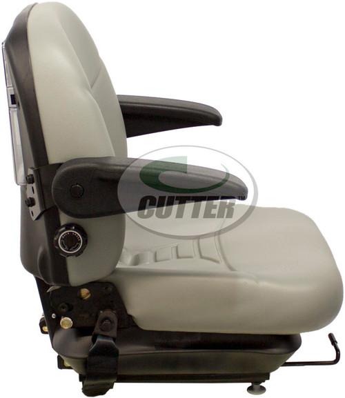 Grey Vinyl Pro Seat & Suspension