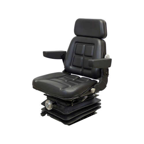 New - Pro Vinyl Tractor Seat & Mechanical Suspension