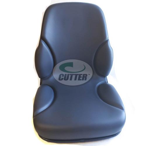 Universal Gray High, Metal-Back Seat