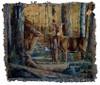 Broken Silence Deer Tapestry Throw with Verse
