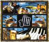Jazz Music Tapestry Throw MS-3883TU4