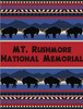 Mt. Rushmore National Memorial throw blanket