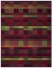 Biederlack Shading Red Blanket